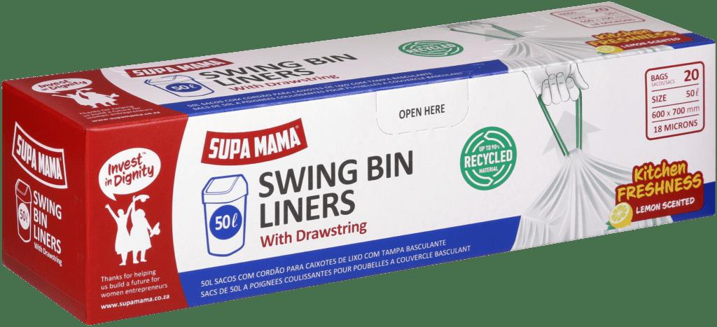 50 Swing Bin Liners